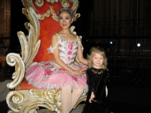 Sugar Plum Fairy and E